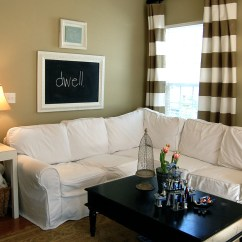 Slipcover For Sofa Cushions Separate Small Scale Sleeper Making Sectional Slipcovers | Homesfeed