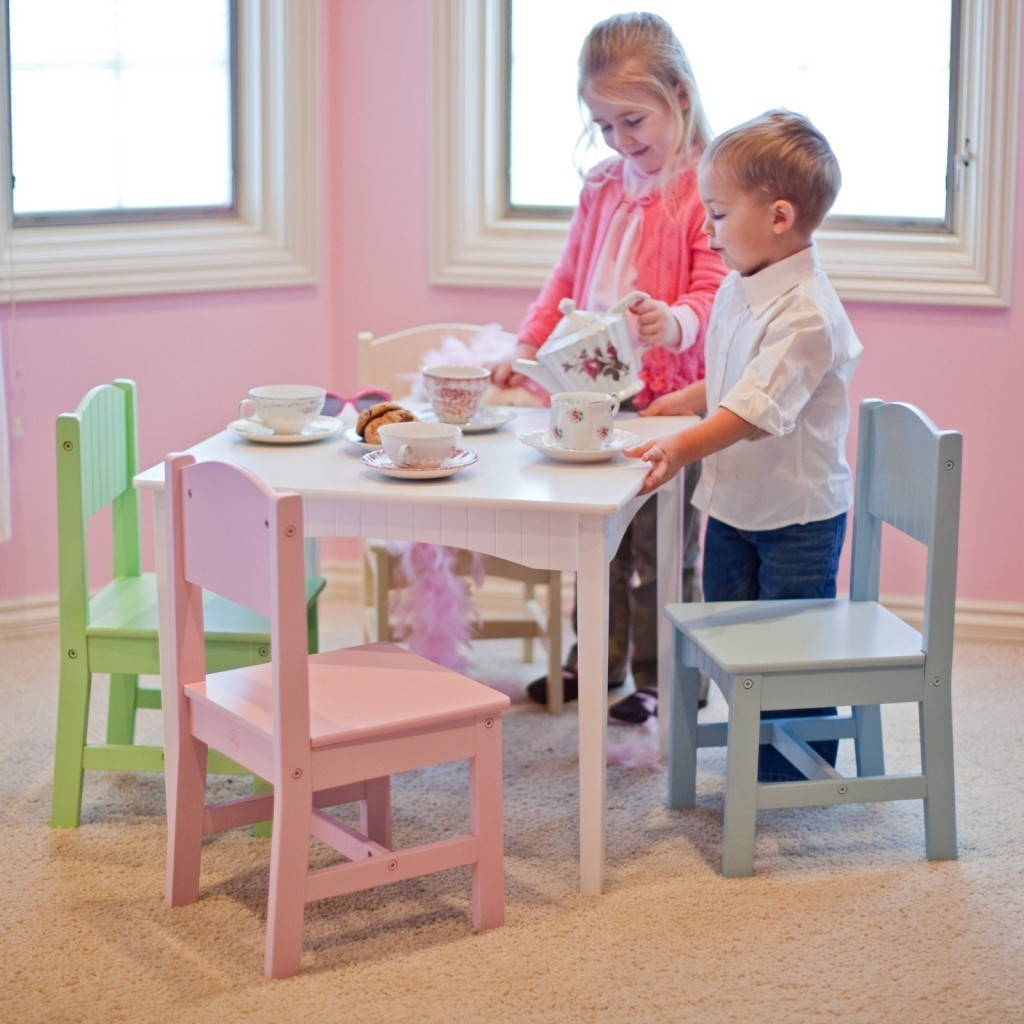 Modern Kids Table And Chairs Design Options Homesfeed