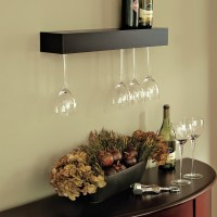 Wall Mounted Wine Glass Holder | HomesFeed