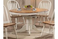 White Round Kitchen Table and Chairs Design | HomesFeed