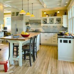 Kitchen Table Island Combo Modular Cabinets Combination A Practical And Double