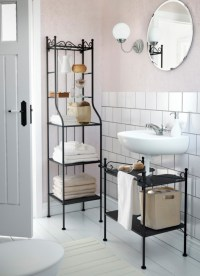 Towel Shelves in the Bathroom  from Messy to Stylish ...