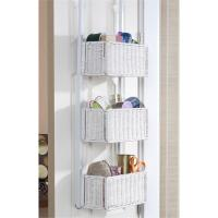 Over the Door Basket Storage  the Nuance of Functional