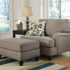 Loveseat And Chair A Half Foldable Floor Comfortable Oversized Chairs With Ottoman | Homesfeed