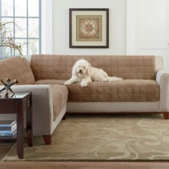 Sofa Coverings Dogs Rustic Leather Set Couch Cover For Sectional Way To Treat Furniture Wise Homesfeed Creamy Iea With White And Wooden End Table Glass Window