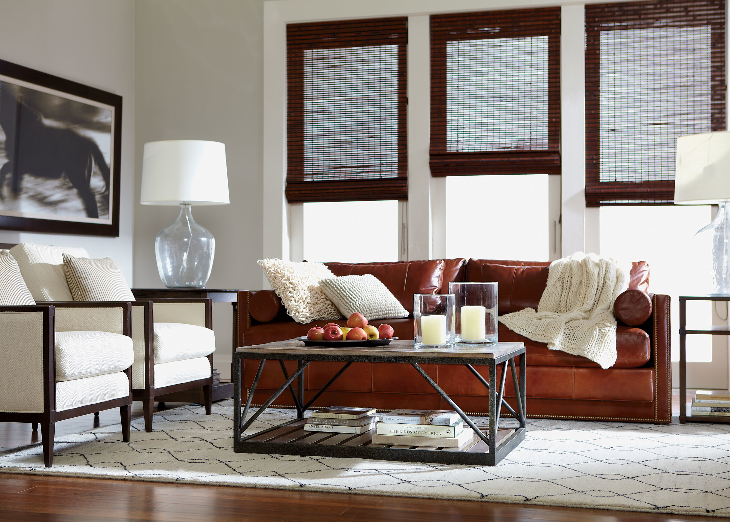 Ethan Allen Leather Furniture For Charming And Comfortable Home Part 71
