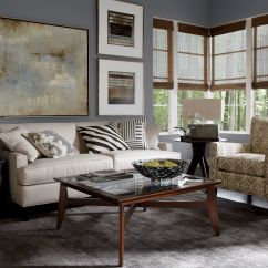 Ethan Allen Living Room Ideas Interior Design Photo Gallery Leather Furniture For Charming And Comfortable Home In Effortless With White Loveseat Couch Comfy Armchair