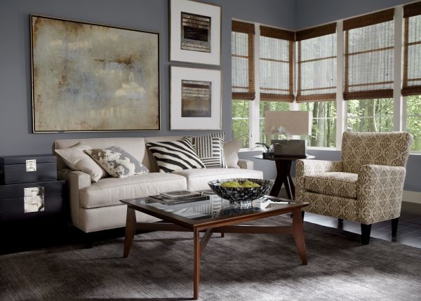 Ethan Allen Leather Furniture Charming And Comfortable