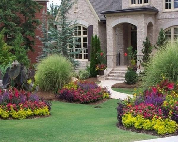 front yard landscape plans