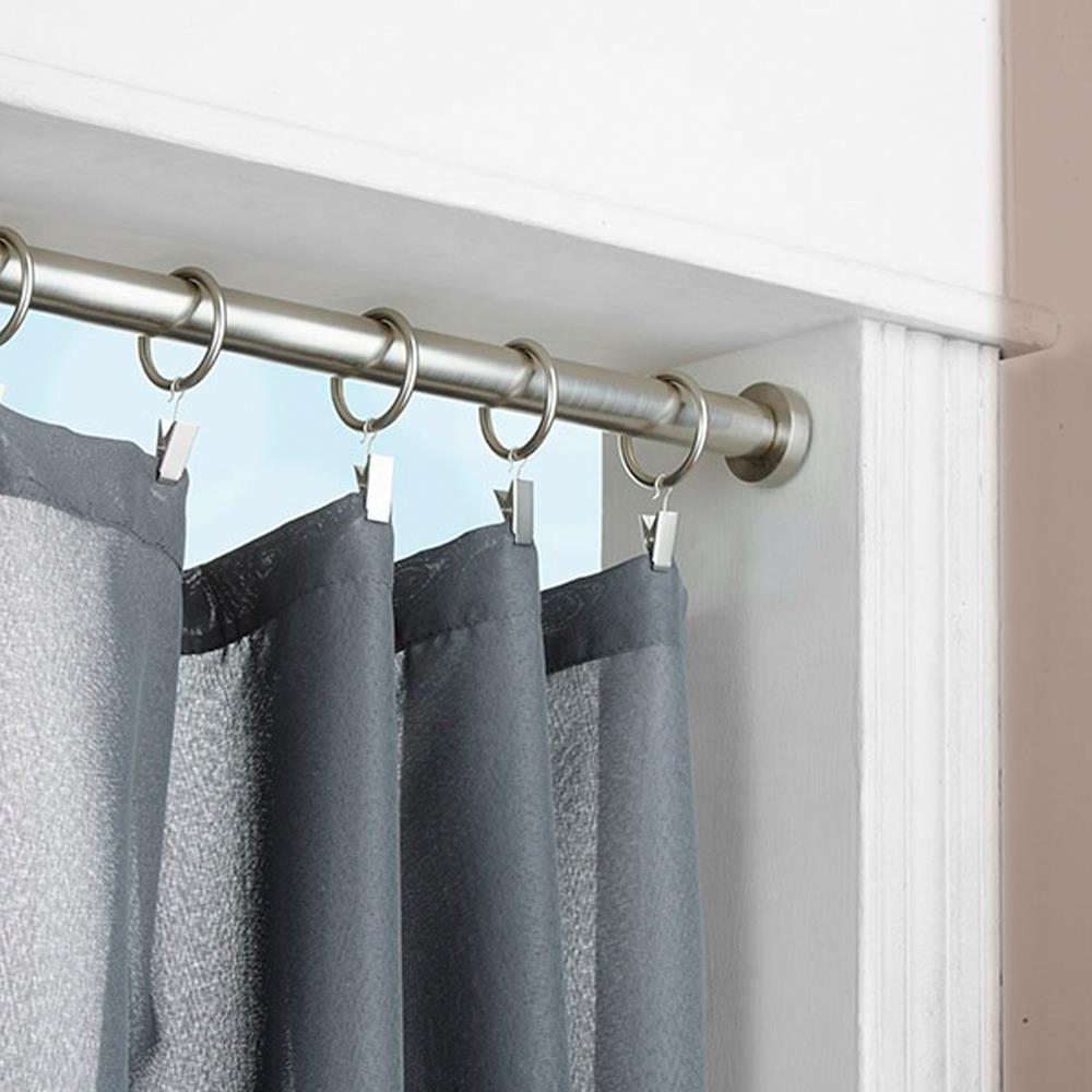 shower curtain rod tension