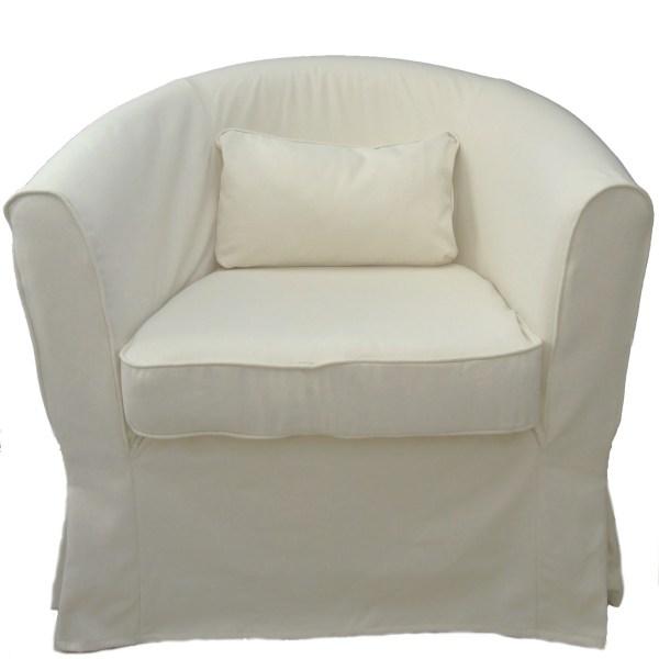 Swivel Barrel Chair Slipcover
