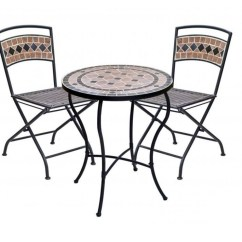 Espresso Table And Chairs Wheelchair Accessible Taxi Get A Nice Spot In Your Garden Or Patio By Decorating An