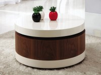 The Round Coffee Tables with Storage  the Simple and
