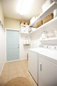 Shelving for Laundry Room Ideas | HomesFeed