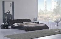 Low Profile Platform Bed Frame Displaying Interesting ...