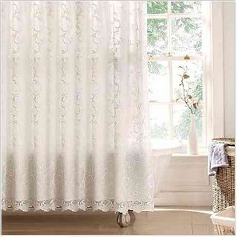 Classic and Lovable Victorian Shower Curtains  HomesFeed