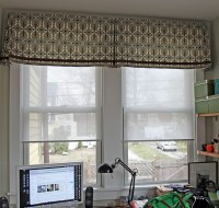 Contemporary Window Valances Updating Your Interior ...