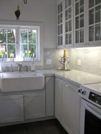 Carrara Marble Backsplash Ideas | HomesFeed