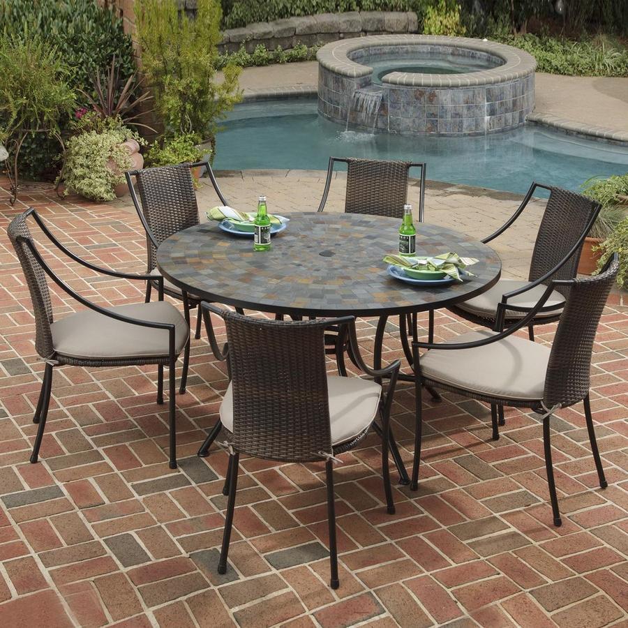 Stone Patio Tables Ideas