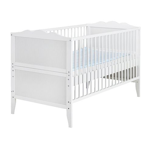 Baby Cribs Ikea With Blue Mattress