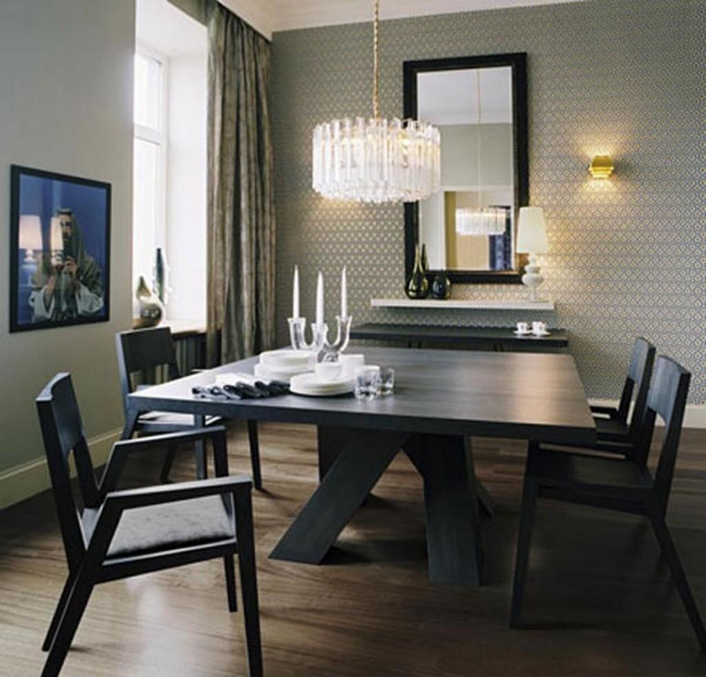 Simple Minimalist Dining Room