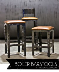 Awesome Industrial Style Bar Stools | HomesFeed