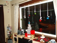 Christmas Decorations For Curtains