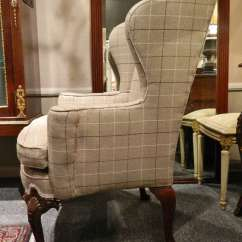 Dining Room Chair Fabric Office Keeps Rising Upholstered Wingback Chairs | Homesfeed