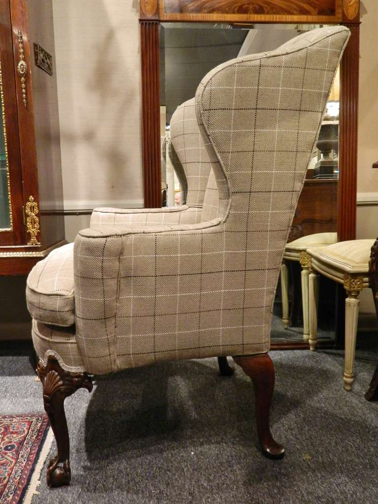 dining wingback chairs pink comfy chair upholstered | homesfeed