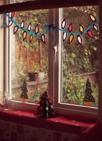 Window Decorations for Christmas | HomesFeed