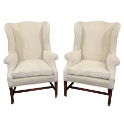 White Upholstered Chairs High Top Table Kitchen Wingback Homesfeed