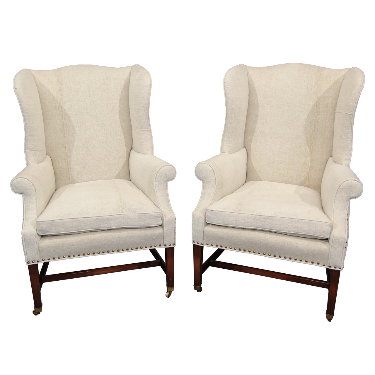 Wing Back Chairs Upholstered Wingback Chairs Homesfeed