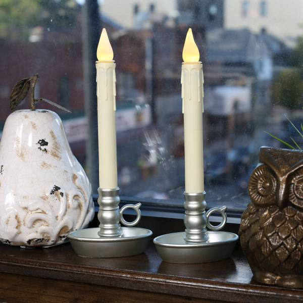 Battery Operated Christmas Window Candle Lights