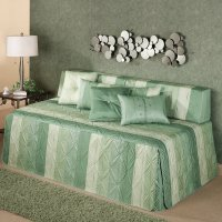 Daybed Covers. Daybed Covers And Bolsters Green And White ...