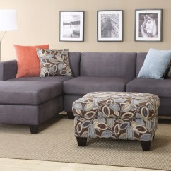 2 Piece Sectional Sofa Chaise Professional Cleaning Hull Reversible Attractive
