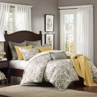 Grey King Size Bedding Ideas | HomesFeed