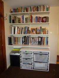 Wall Shelves for Books Design | HomesFeed