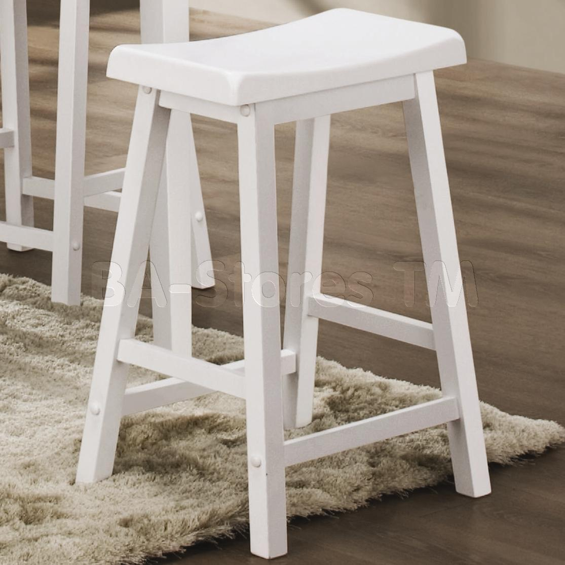 wooden bar stool chairs leigh upholstered slipper chair white wood stools homesfeed
