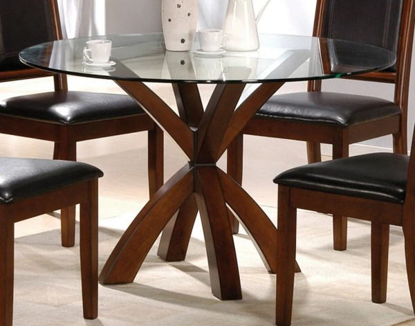 Round Glass Top Dining Room Tables