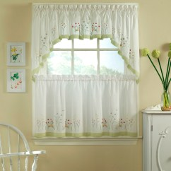 Kitchen And Bathroom Window Curtains Cabinets Lancaster Pa Half Ideas Homesfeed