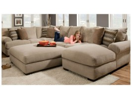 2 Piece Sectional Sofa with Chaise Design – HomesFeed