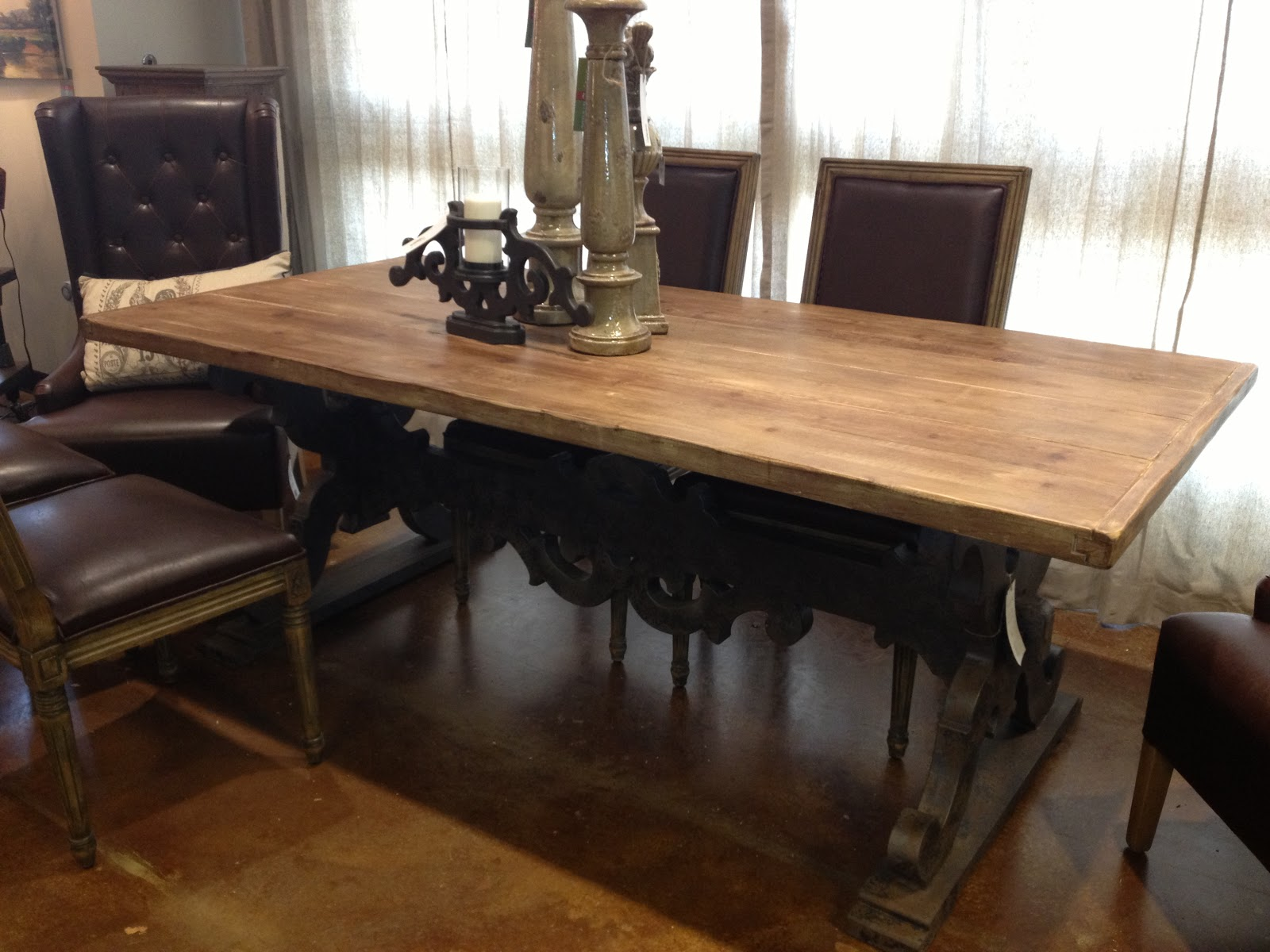 kitchen table sets target pans dining room homesfeed long rectangular with leather chairs of