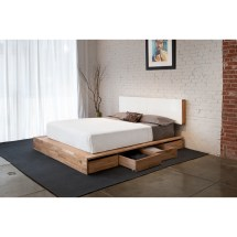Full Bed Frame With Storage Smart Solution Extra