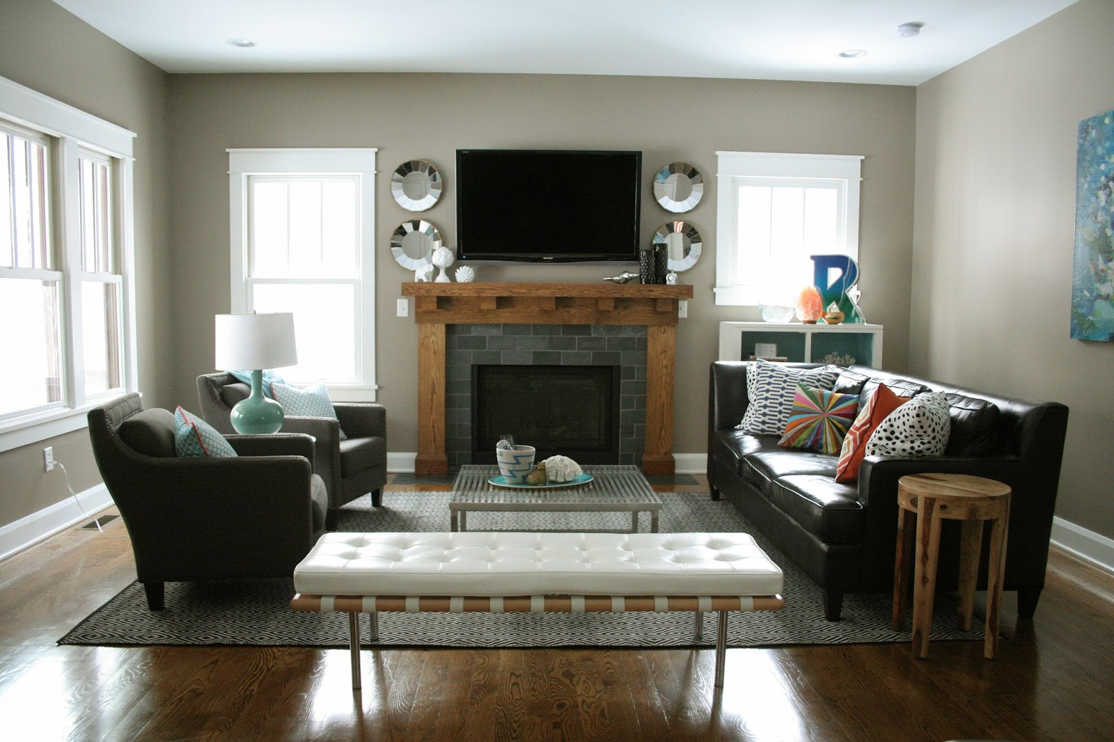Living Room Furniture Arrangement  HomesFeed