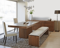 Dining Room Table with Bench Seat