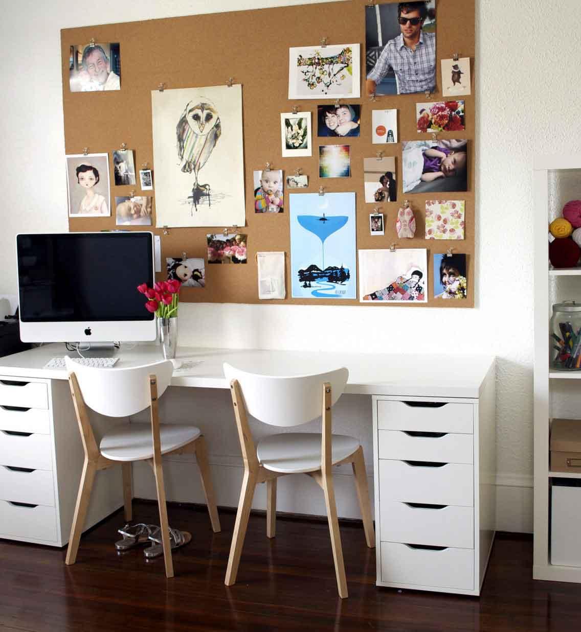 Home Office Bulletin Board Ideas