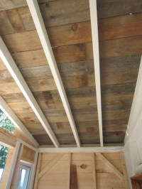 Wood Ceiling Planks Design