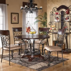 Wrought Iron Kitchen Sets Satin Nickel Faucet Table Ideas Homesfeed