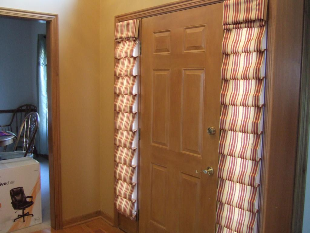 Awesome Entry Door Sidelight Curtains The Front Entry Doors With