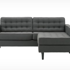 2 Piece Sectional Sofa Chaise Klaussner Leather Sofas With Design Homesfeed